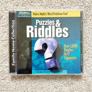 CD-ROM game: Puzzles & Riddles